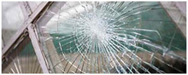 Market Warsop Smashed Glass